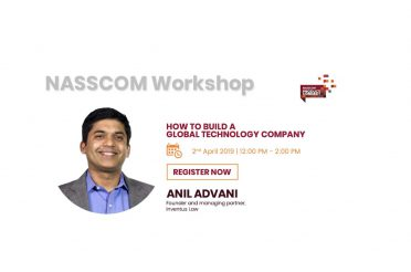 Inventus Law Founder Anil Advani Speaking @ NASSCOM Product Enclave in Delhi on April 2