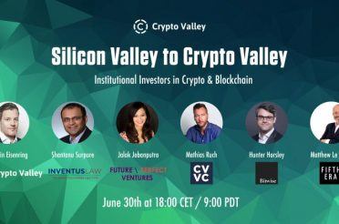 Panel Discussion with Crypto Valley on Institutional Investors in Crypto & Blockchain