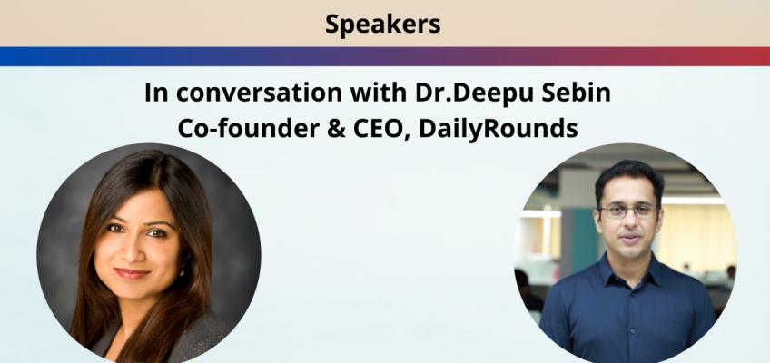 #FoundersLead Fireside Chat – Dr.Deepu Sebin